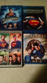 Superman collection Blu-ray / dvd in Cherry Point, North Carolina