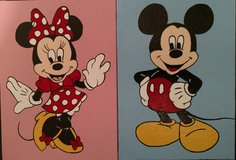 Mickey and Minnie Mouse in Camp Pendleton, California