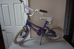 "Kid Bike Disney Princess 16"" Bicycle in Aurora, Illinois"