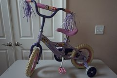 "Kid Bike Disney Princess 12"" Bicycle (with removable training wheels) in Aurora, Illinois"