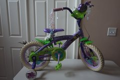 "Kid Bike Disney Tinker Bell 14"" Bicycle (with removable training wheels) in Aurora, Illinois"