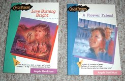 A Forever Friend & Love Burning Bright Lot of 2 Cassie Perkins Series Books Grade 7th-8th Age 9-13 in Chicago, Illinois