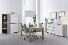 Household Package #5 - Dining Set with matching TV Stand and Coffee Table and Sectional Living R... in Stuttgart, GE