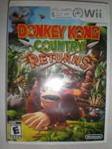 WII Donkey Kong Country Returns in Camp Lejeune, North Carolina