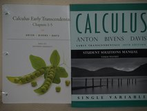 Calculus Early Transcendentals/Sol. Man. in Beaufort, South Carolina