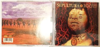 Sepultura Roots rare Argentina CD with bonus tracks OOP in Chicago, Illinois