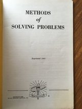 Devry Technical Institute 1961 Methods of Solving Problems in Chicago, Illinois