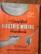 Simplified Electric Wiring Handbook Copyright 1957 in Oswego, Illinois