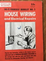 1954 Popular Mechanics Do-It-Yourself Booklet - House Wiring in Oswego, Illinois
