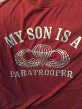 My Son is a Paratrooper T-Shirt Adult Size Large in Chicago, Illinois