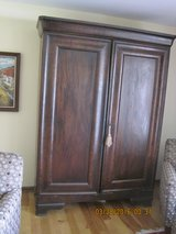 1800's FRENCH MAHOGANY AMOIRE in Naperville, Illinois