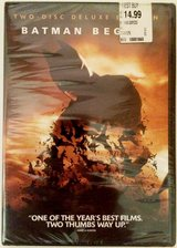 Batman Begins (Two-Disc Special Edition)  New Sealed in Plainfield, Illinois