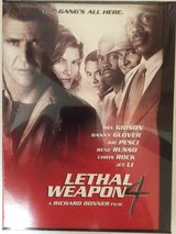 Lethal Weapon 4 DVD new sealed in Naperville, Illinois
