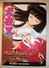 Inuyasha 11 pack (4 DVD, 4 manga, 2 cards, 1 clothing) in Cherry Point, North Carolina