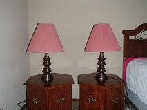 2 Bronze lamps in Cleveland, Texas