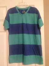 JUNIOR Teal and Blue v-neck shirt in Fort Riley, Kansas