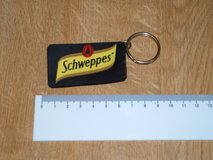 SCHWEPPES KEY RING ( RUBBER ) in Lakenheath, UK