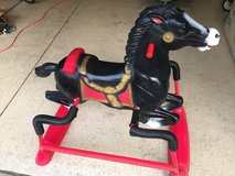 """Beautiful Rocking Horse """"Midnight"""" by Hedstrom - Ages 1 to 6 in Lockport, Illinois"""