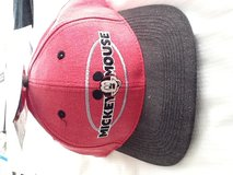 Official Mickey Mouse cap New w/tag Adjustible size in Bolingbrook, Illinois