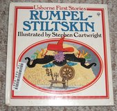 Rare VINTAGE 1988 Usborne First Stories Rumpel-Stiltskin Hard Cover Children's Book in Morris, Illinois