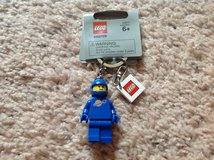 LEGO Blue Space Man Keychain in Camp Lejeune, North Carolina