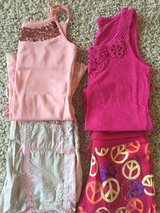 Justice Shorts/Tank Outfits-Size 10 in Plainfield, Illinois
