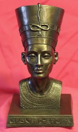 Veronese Nefertiti bust in Lakenheath, UK