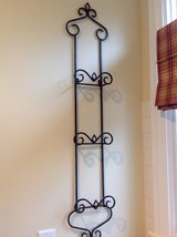 Wrought Iron 3-Plate Rack with Bronze Finish in Westmont, Illinois