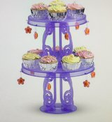 """""""NEW"""" American """"Girl Size"""" Party Cupcake / Cake stands with Charms in Naperville, Illinois"""