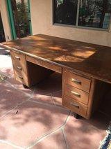 old desk in 29 Palms, California