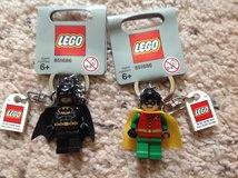 LEGO Dynamic Duo Keychains in Camp Lejeune, North Carolina
