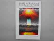 POWER OF LANGUAGE LANGUAGE OF POWER A COLLECTION OF READING in Fort Leonard Wood, Missouri