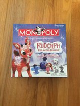 Rudolph the Red Nosed Reindeer Monopoly in Beaufort, South Carolina