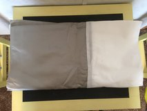 New Never Used Queen Bed Skirt/Silver in Chicago, Illinois