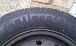 185 65 14 86H Tyre Continent Super Contact 5mm+ in Lakenheath, UK