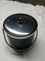 Ice Bucket Stainless and black leatherette in Westmont, Illinois