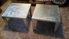 Contemporary Metal Construction 2 Piece End Table Set in Fort Campbell, Kentucky