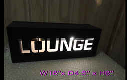 Lounge Metal Light Box With ON/OFF and Wall Hook  W16'' x D4.5'' x H6'' in Bolingbrook, Illinois