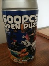 New 500 piece wooden puzzle in can in Tinley Park, Illinois