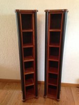 2 Solid Cherry Media Holders in Naperville, Illinois
