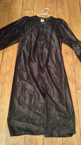 "Graduation Robe, 6'0"" to 6'2"", Black in Houston, Texas"