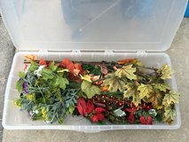 Lot of floral arrangements with case in Okinawa, Japan