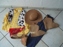 "Toy Story ""Woody"" Costume size 10 Fasching/Halloween/Dress Up in Stuttgart, GE"