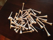 48 Wooden Golf Tees in Chicago, Illinois