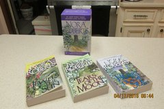 """Nora Roberts"" Irish Trilogy Giftset In Presentation Box -- NEW in Kingwood, Texas"