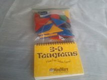Tangrams set and manual in Glendale Heights, Illinois