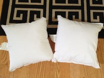 NEW 2 Hobby Lobby small craft pillows in Naperville, Illinois