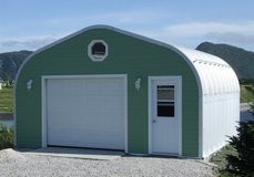 20x12x24 Steel garage in Joliet, Illinois