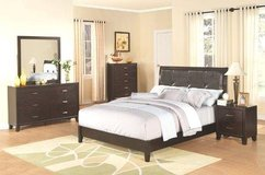King Size Complete Bed Set with Mattress & Boxframe - monthly payments possible in Ansbach, Germany