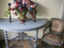 Antique console with armchair in Ansbach, Germany